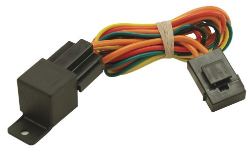 Derale 16763 Electric Fan Relay Wire Harness,Black