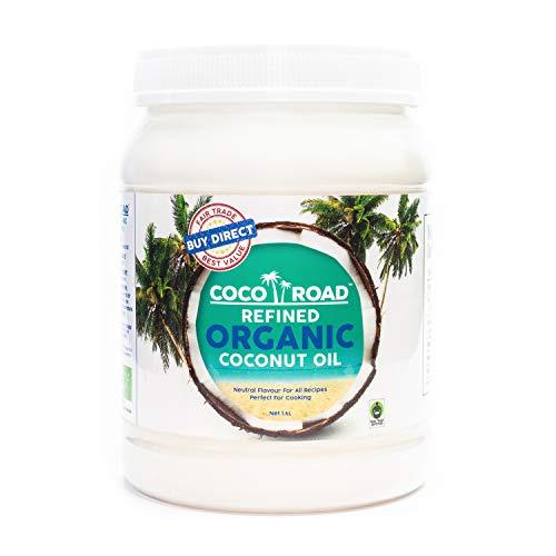 Coco Road Refined Organic & Fair Trade Coconut Oil 1.6L