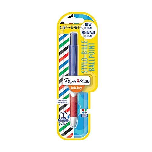 Papermate InkJoy Quatro–Bolígrafo de color de 4blíster [unidades 12]