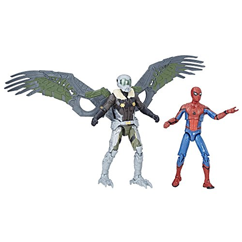 Spider-Man Marvel Legends Homecoming Spider-Man & Buitre Cifras 2-Pack, 9,5 x