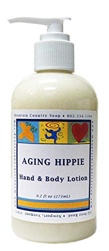 Aging Hippie Patchouli Aromatherapy Hand & Body Lotion - 9.2 oz.