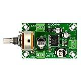 Electronics-Salon Battery Supply Audio Mono Amplifier Module Board, NJM386D, LM386