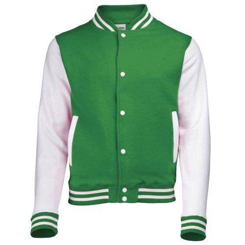 AWDis Awdis del equipo universitario de la chaqueta / schoolwear 9-11 Kelly para Niños 44085 Verde