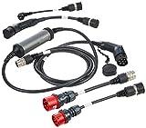 Juice Booster 2 Cargador Portátil Coches - 22kW, 11kW, Wallbox, Trifasico, Monofásico, Tipo 2 | 3 en 1 Traveller Set