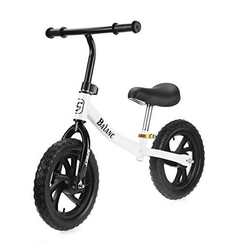 Bicicleta de equilibrio para niños de 12 pulgadas, sin pedales, para niños, sin pedales, para scooter para niños de 2/3/4/5 años, regalo de cumpleaños