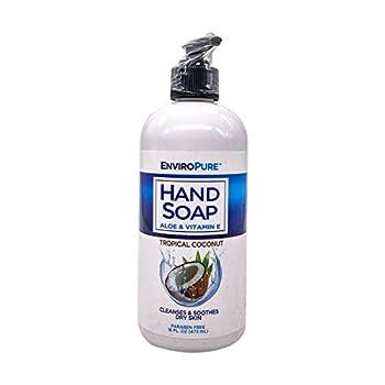 EnviroPure Coconut Hand Soap 16 OZ