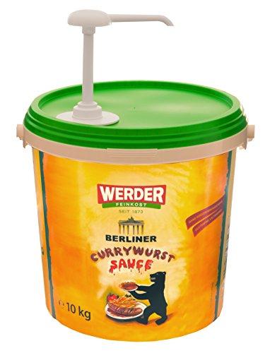 WERDER Dosierpumpe für Ketchup Eimer - Saucen Spender