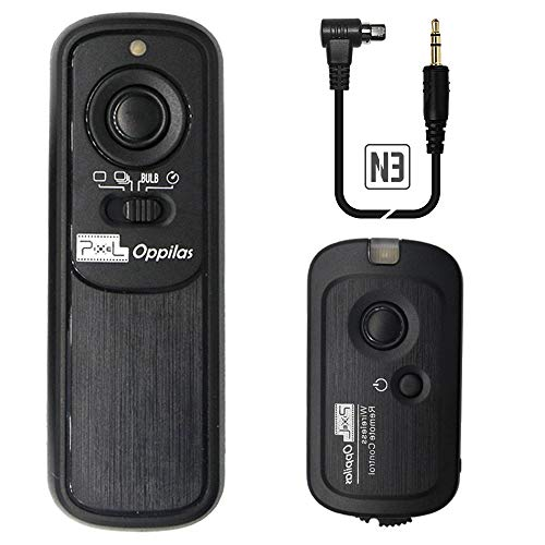 Pixel RW-221 N3 Wireless Shutter Release Cable Remote Control Controller for Canon Eos Digital SLR Cameras 5D Mark IV III 1D 6D 7D 60D Replaces Canon RS-80N3