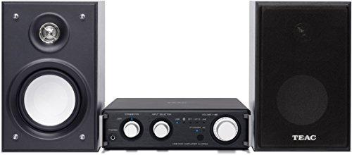 Teac HR-S101 (BB) HD-Microsystem (2x 26 Watt, USB, Bluetooth, aptX, Player-Software für Windows/Mac) schwarz
