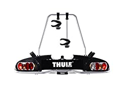 Thule 915020 EuroPower 915 towbar bike carrier, silver, 2 bikes