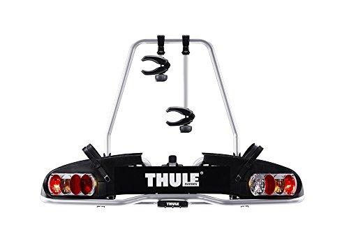 Thule 915020 EuroPower 915 Anhängerkupplungs-Fahrradträger, Silber, ...