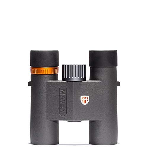 Maven C2 10X28mm Compact Binocular Gray/Orange