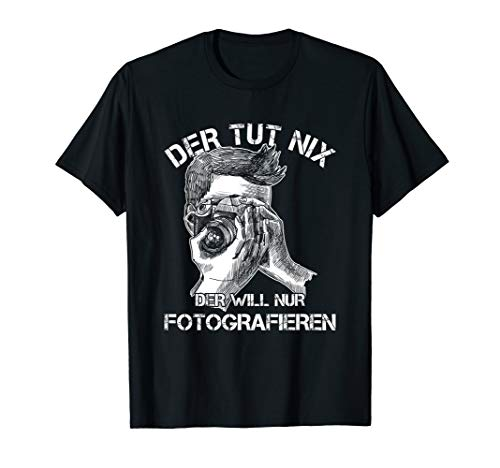 Fotograf Fotografie Kamera Objektiv Fotografin Geschenk T-Shirt