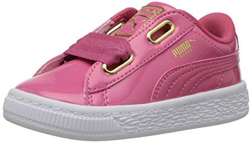 PUMA - Sneaker a forma di cuore, rosa (Rapture Rose-puma Team Gold), 35 EU