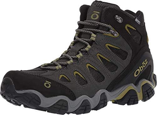 Oboz Sawtooth II Mid B-Dry Hiking Boot - Men's Dark Shadow/Woodbine Green 13