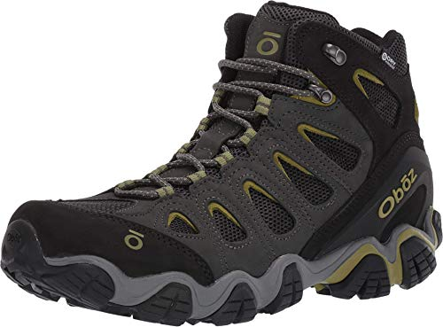 Oboz Sawtooth II Mid B-Dry Hiking Boot - Men's Dark Shadow/Woodbine Green 9