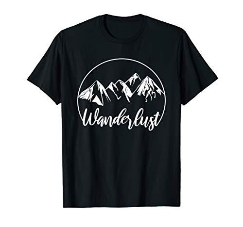 Cooles Bergliebe Wandern Outdoor Berg T-Shirt I Geschenk T-Shirt