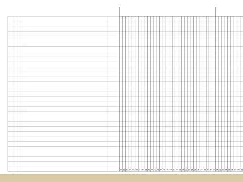 X17 - A5 Leporello/Faltplaner Projektliste für das revolutionäre X17 und X47 Notizbuch mit auswechselbaren Heften