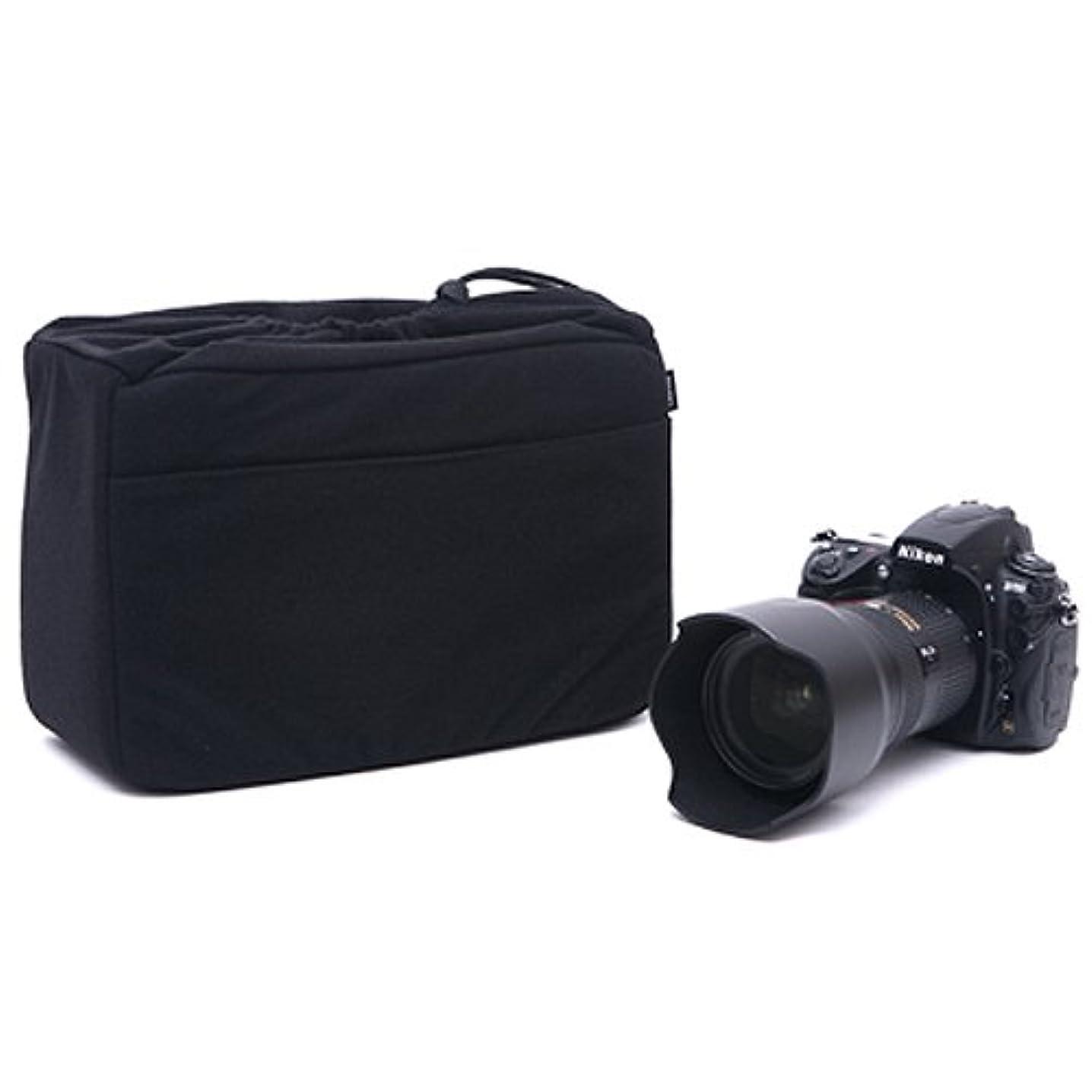 MATIN Cushion Partition Insert Padded Bag Case NDCP-70 Black for DSLR SLR Mirrorless Camera Lens
