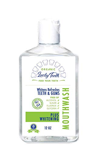 Lucky Teeth Organic Food Grade Peroxide MouthWash - Plus...
