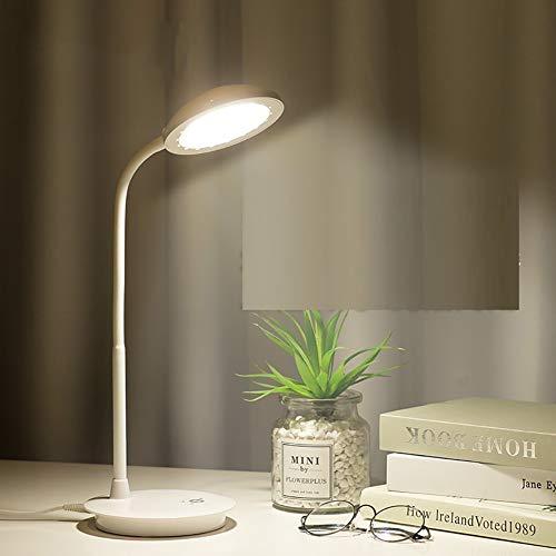 Led Studie Auge Tischlampe, Studentenwohnheim Klapptischlampe Kinder lesen Nachttischlampe Schreibtischlampe