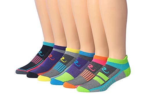 Ronnox Men's 6-Pairs Low Cut Running & Athletic Performance Socks Medium/Large MRLT02-A-ML