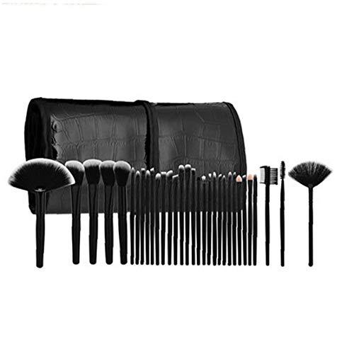 32pcs / set de maquillage professionnel brosse cosmétiques Set Brosses Outils de maquillage Fournitures de maquillage avec étui