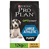 PRO PLAN Large Puppy Athletic avec OPTISTART Riche en Poulet - 12 KG - Croquettes...