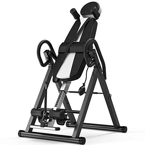 OUNUO Weight Bench Adjustable Sit-Ups Bench Fitness Equipment Handstand Machine Human Body Stretching Artifact Sit-Up Fitness Equipment,black