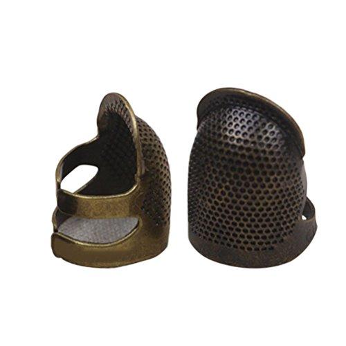 SUPVOX Dedal de costura Ajustable Pulgar Dedal Escudo Dedo D
