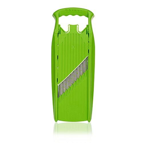 Börner Gemüseschneider Welle-Waffel PowerLine - BPA frei Wellenschneider Waffelschneider Gemüseschneider Gemüsehobel