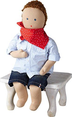 """HABA 146.824 Therapie Puppe """"Toni"""", Behinderung, für Kinder"""