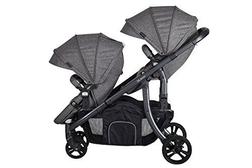 Xadventure 20137 Xline Tandem Babytragen für Zwillinge, CHARDONNAY