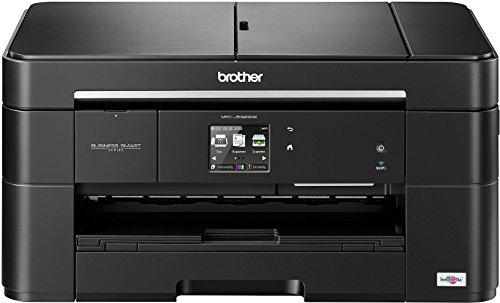 Brother MFC-J5320DW Farbtintenstrahl-Multifunktionsgerät (Scanner, Kopierer, Drucker, Fax, Duplex, WLAN, USB 2.0) schwarz