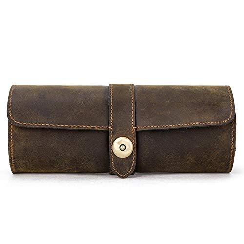 3 Slot Watch Box Portable Travel Zipper Case Collector Storage Jewelry Storage Box