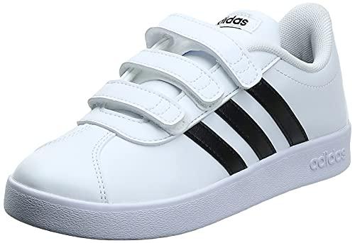 adidas Vl Court 2.0 CMF C Gymnastiekschoenen voor kinderen, uniseks