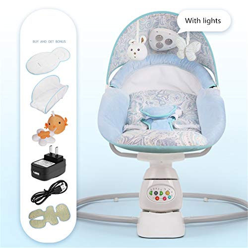 Infant Bouncers & Rockers schommels & fauteuil Bouncers baby schommelstoel Safe Electric Cradle Chair kalmeert de kunst van de baby