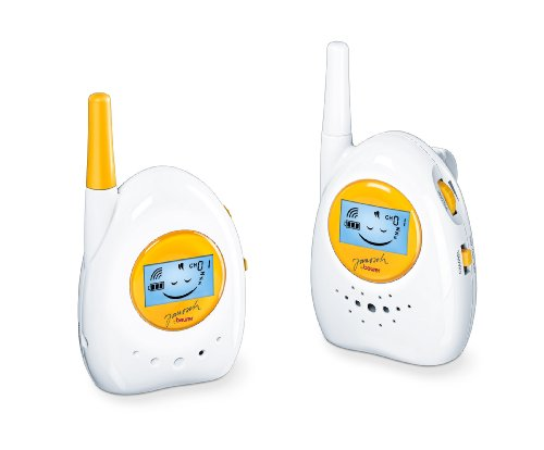 Beurer JBY 84 Babyphone Janosch, weiss - gelb