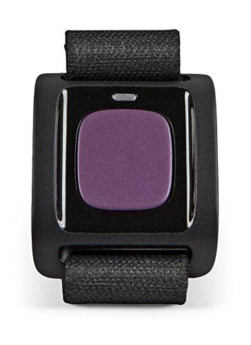 Doro 3500 Alarmtaster (geeignet für Secure 580, 5516, 6050, 8031, 8035, 8040, Liberto 825) aubergine/schwarz