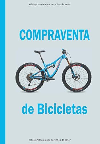 COMPRAVENTA DE BICICLETAS: Libro agenda para tienda de bicicletas
