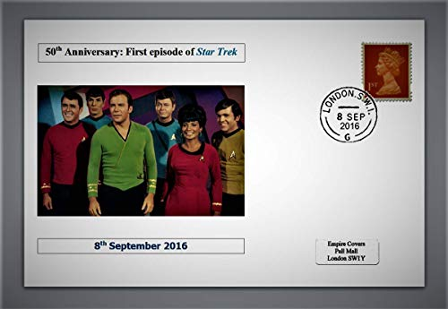 GB 2016 50th Anniversary of 1st Episode of Star Trek privately Produced...