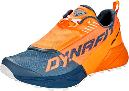DYNAFIT Scarpe Ultra 100 Uomo, Shocking Orange-Orion Blue, UK 9.5