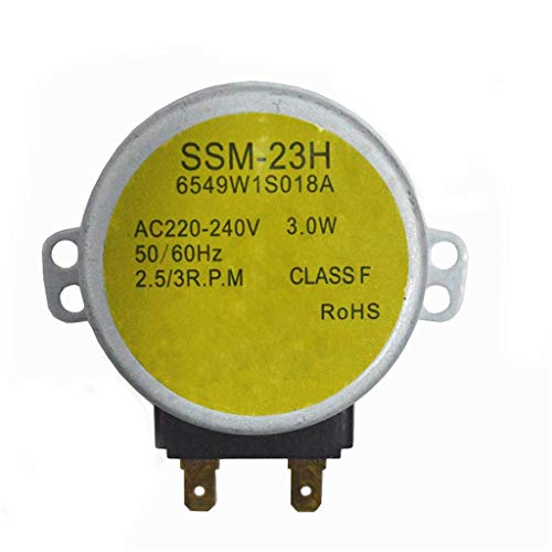 Accesorios para Microondas Compatible con LG Microondas Horno Turntable Motor MP-9485SA MP9489SB MZ9480YRC Piezas de Horno de microondas Kits De Instalación De Microondas