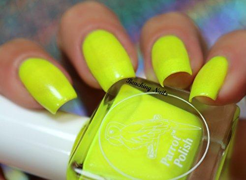 Parrot Polish Pit Viper Yellow