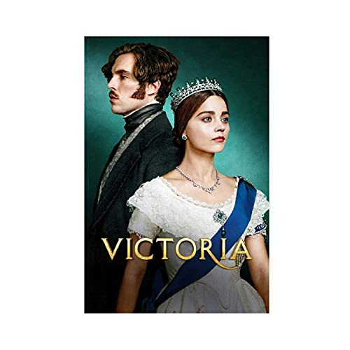 Poster TV Victoria Saison 3 - Décoration de chambre à coucher, de sport, de bureau, de chambre, cadeau, 30 × 45 cm - Sans cadre : 1