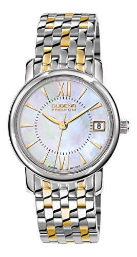 Dugena Damen Analog Quarz Uhr mit Edelstahl Armband 7090155-1