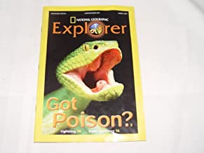National Geographic Explorer Magazine for Kids Pathfinder Edition March 2012