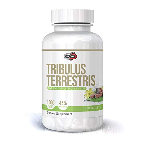 powerful Tribulus Terrestris extract, 1000 mg capsules, natural herbs, male and female support, 45% saponin, high …