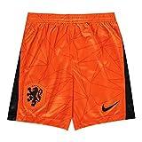 Nike 2020-2021 Holland Home Shorts (Orange) - Kids