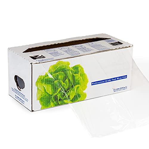 Plastic Food Film Seal Wrap in Cutter Dispenser